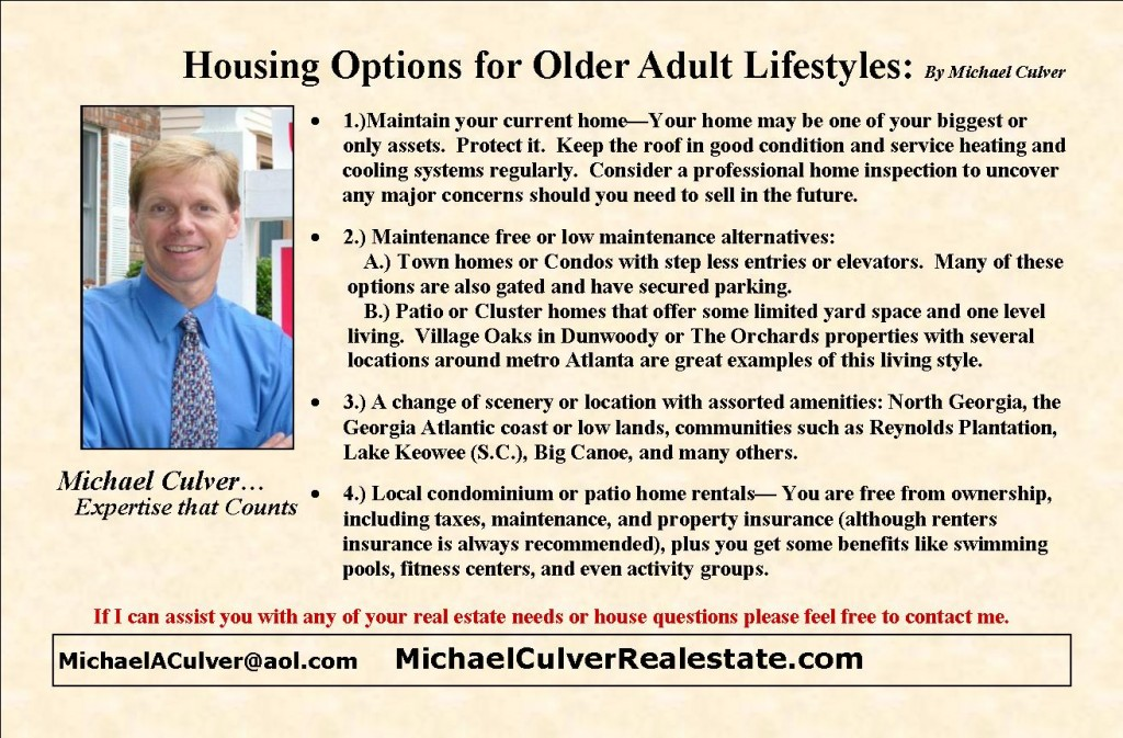 Living options for seniors